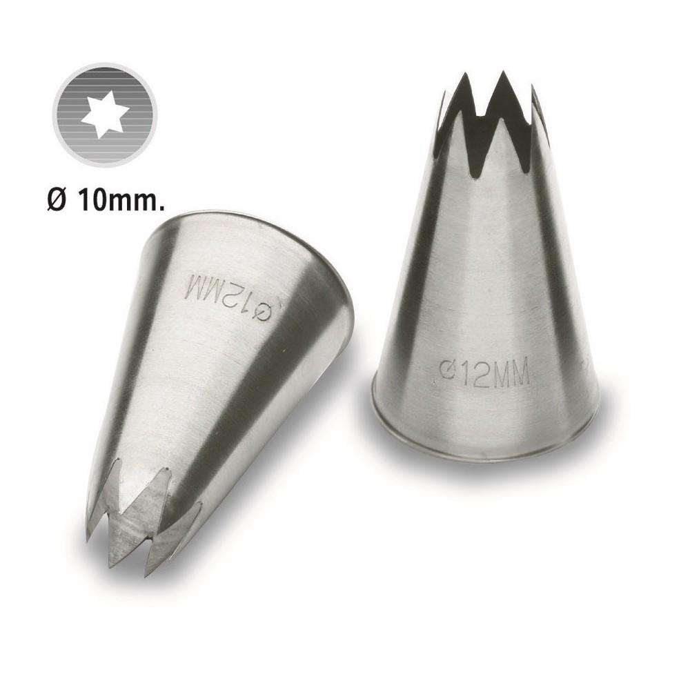 BOQUILLA ESTRELLA 10 mm. 68900 LACOR