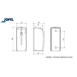 DISPENSADOR AMBIENTAL AI90000 JOFEL