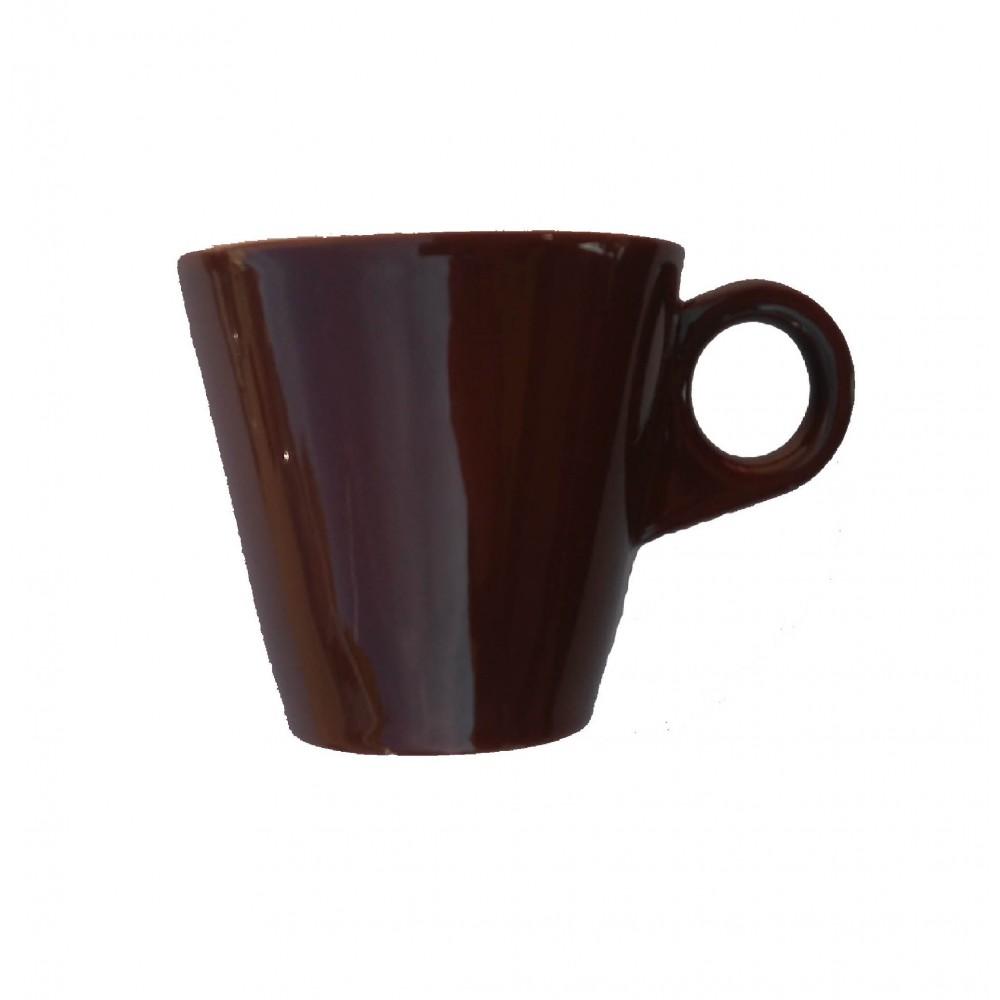 DEL MOKA-CAFE TAZA 08CL JTB CHOCO
