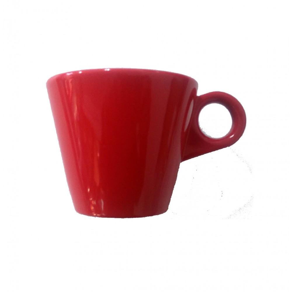 DEL MOKA-CAFE TAZA 08CL JTB ROJA