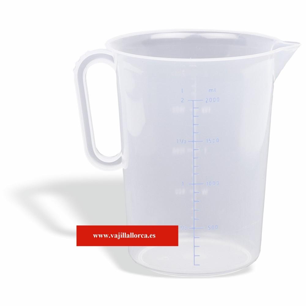 JARRA MEDIDAS PLASTICO 1L 846100
