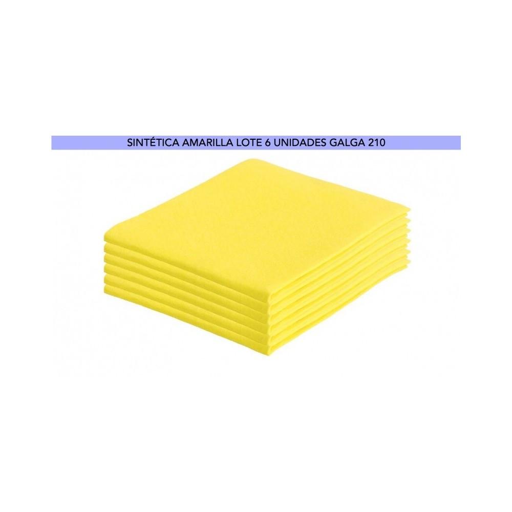 BAYETA AMARILLA 50x38 GALGA 210