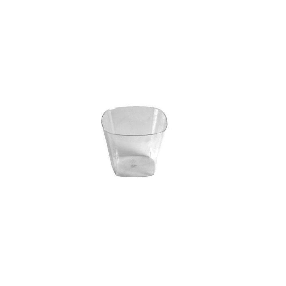 CATERING VASO PS ANGULAR 10CL H.5CM