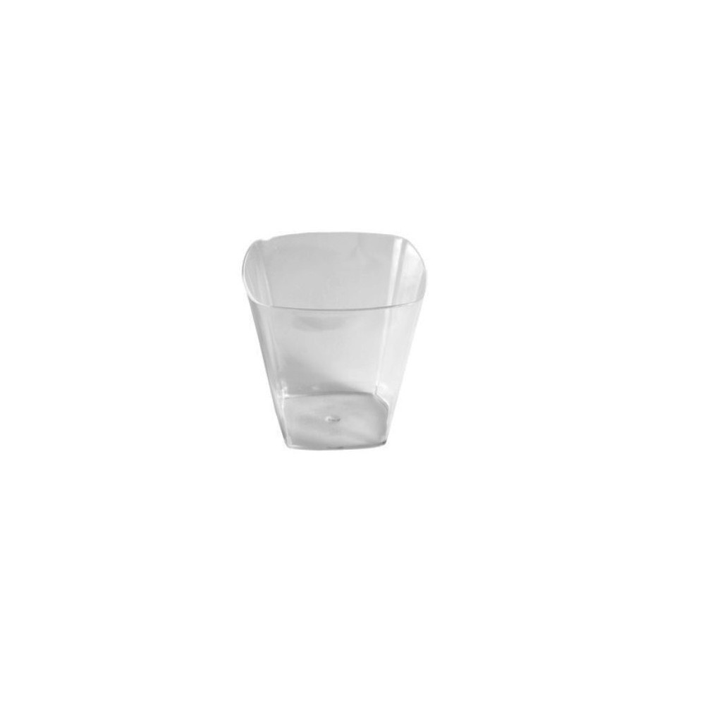 CATERING VASO PS ANGULAR 20CL H.7CM