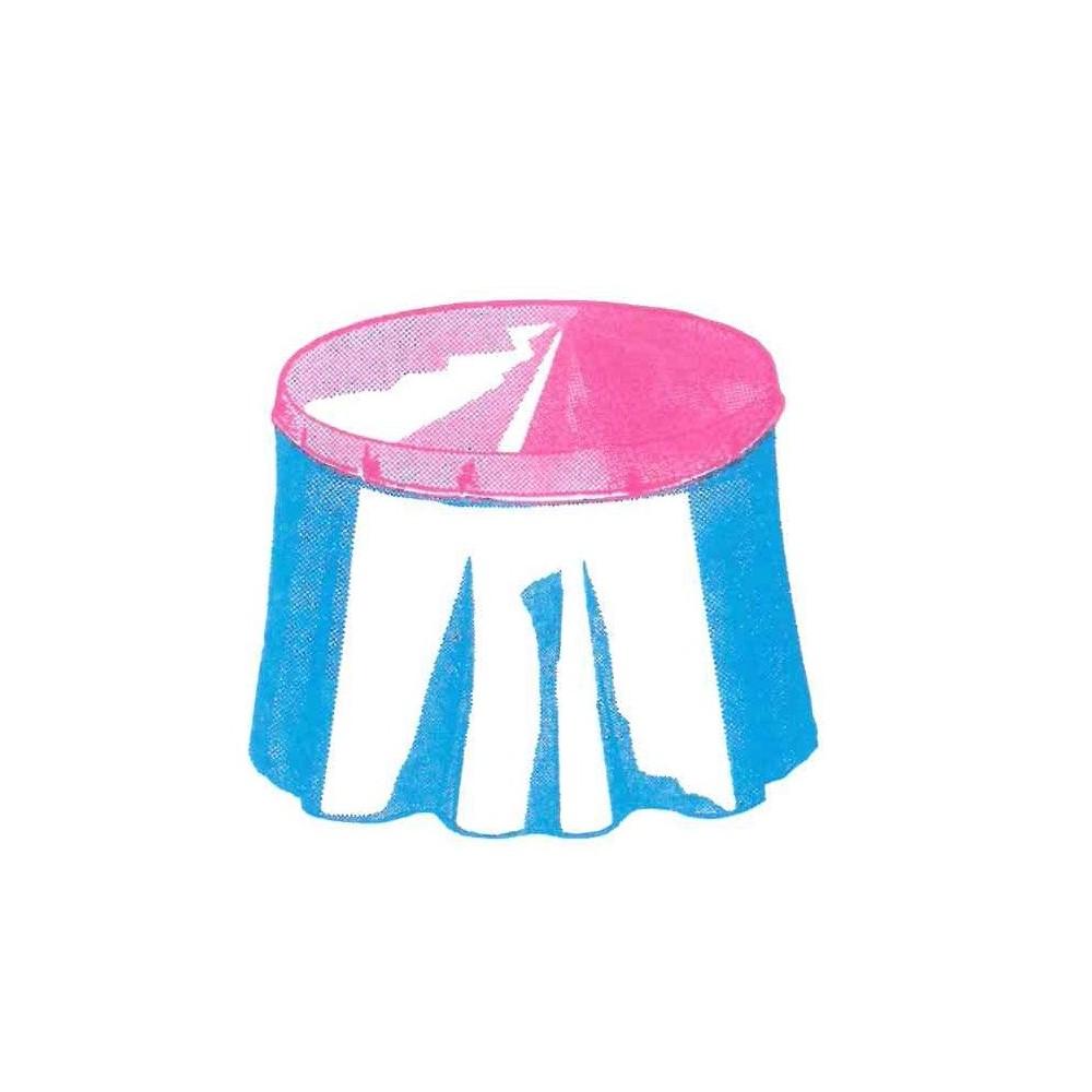 CUBREMESA BOINA 80CM PVC 0,15
